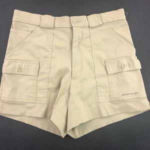 Sportif Women's Tan Cargo Shorts 32